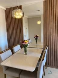 Apartamento com 3 dormitórios à venda, 62 m² por R$ 290.000,00 - Granja dos Cavaleiros - M