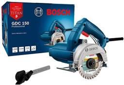 Serra Mármore Profissional Bosch 1.500 W GDC 150 Titan
