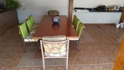 Mesa para churrasqueira 8 lugares