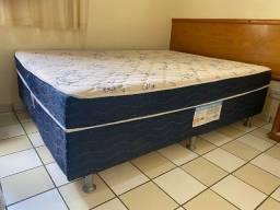 Vendo cama box conjugada casal Ortobom