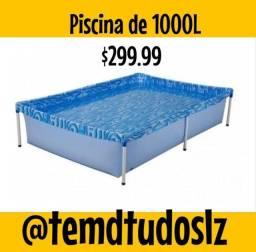 Piscina estruturada de 1000 litros