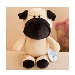 Título do anúncio: Cachorro Pug - Pelúcia