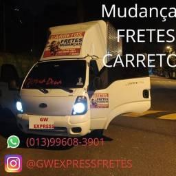 Título do anúncio: MUDANÇAS/FRETES E CARRETOS