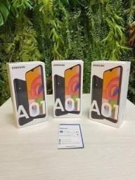 Galaxy A01 Preto 32GB, Novo/Lacrado na caixa, Nota Fiscal + Garantia Samsung 1 ano