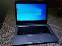 Notebook HP i5 6a SSD c/Garantia