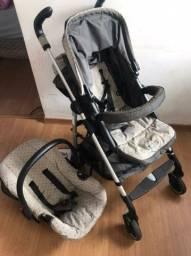 Carrinho de Bebê + Bebê conforto - Burigotto<br><br>
