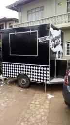 Food Truck / foodtruck / Trailer - Documentos em dia - Hamburguer/espetinhos