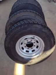 Rodas e pneus F250