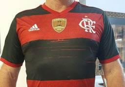 Camisa do flamengo original tamanho GG com patchs da Conmebol libertadores