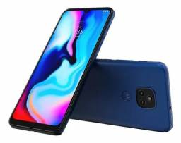 1 Smartphone Motorola Moto E7 Plus Azul Navy 64GB 4gb RAM 2 chips novo