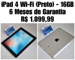 Ipad 4 Wi-Fi ( Preto)- 16Gb