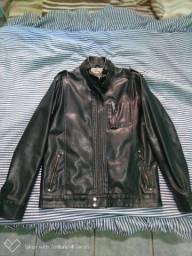 Jaqueta de couro BLUE steel tamanho M