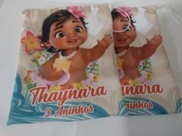 10 Sacolas Personalizadas, Sacolinha personalizada infantil.