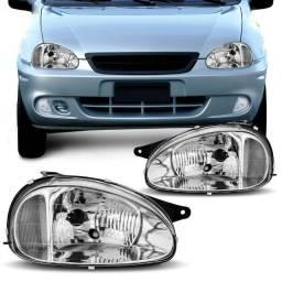 Farol Corsa Hatch/Sedan/Wagon/Pick-up 1994/2010
