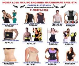 Cintas Modeladoras Femininas e Masculinas. Valor na Foto F. 98876.3162