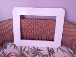 Vendo moldura pra ar condicionado de janela ajustável pra qualquer tamanho!