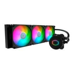 Water Cooler Cooler Master MasterLiquid ML360L RGB 360mm,Intel-AMD - Loja Natan Abreu