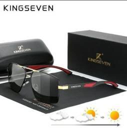 Óculos de sol Masculino KINGSEVEN K-7719 Luxo<br>