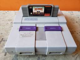 Super Nintendo Completo (3 jogos)