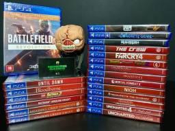 Jogos Playstation 4 (PS4) Novos, Lacrados - Qualquer um por R$65