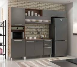 Cozinha Completa Carmenere Reflecta 100% MDF (4 Peças) - Ronipa