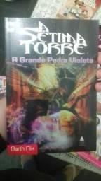"""Livro """"A Sétima Torre, A Grande Pedra Violeta"""" NOVO"""
