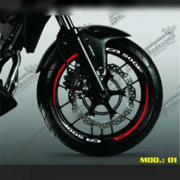 Friso refletivo Honda CB 500F