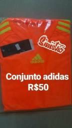 Camisas e bermudas Nike , Adidas , Under armour