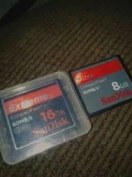Cartão Cf compact flash