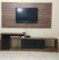 Painel para tv +rack ajustável