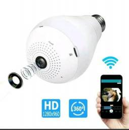 3X No Cartão Lâmpada Camera WIFI Configuração e Entregar grátis na Região
