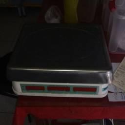 Balança digital Elgin DP-15 plus, máxima 15kg, selo do Imetro - 3 meses de uso