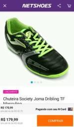 Chuteira Society Joma Dribling TF Masculina