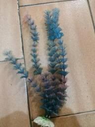 Plantas Artificiais para Aquários Colors 20cm, Cada Unidade