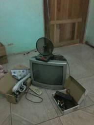 Vendo TV com conversor digital