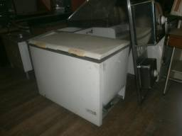 Freezer horizontal branco 2 tampa