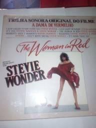 Disco de vinil the woman in red