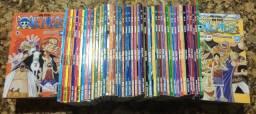 Coleção One Piece Completa 01 Ao 70 + 36 Ao 40 Panini