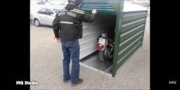 Garagem para motos e bikes ou depósito