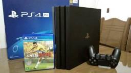 Playstation 4 pró na caixa