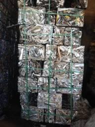 Compro sucatas de alumínio pago bem
