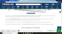 Vendo ar condicionado Samsung