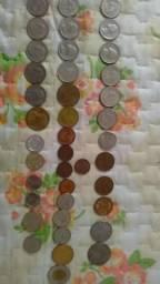 Vendo ou troco moedas antigas