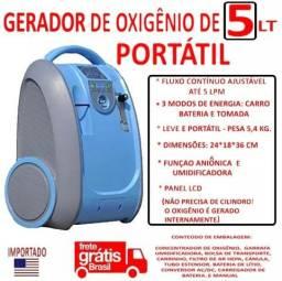 Concentrador De Oxigênio Portátil/1 Até 5 Lpm/lovego 101