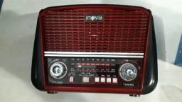 Radio retro com blutu