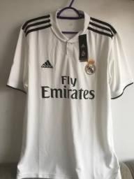 c6cb7a0535 Camisa Real Madrid Oficial 2018