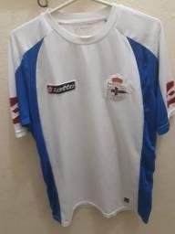 dc1cf587ba Camisa La Coruña Branca E Azul Tam G