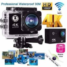 b9fa2d10db Camera 4k Action Cam Go Sports Pro Full Hd 1080p Wi-fi E60