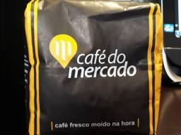 Café fresco moído na hora - Café do Mercado
