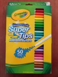 Crayola supertips com 50 cores